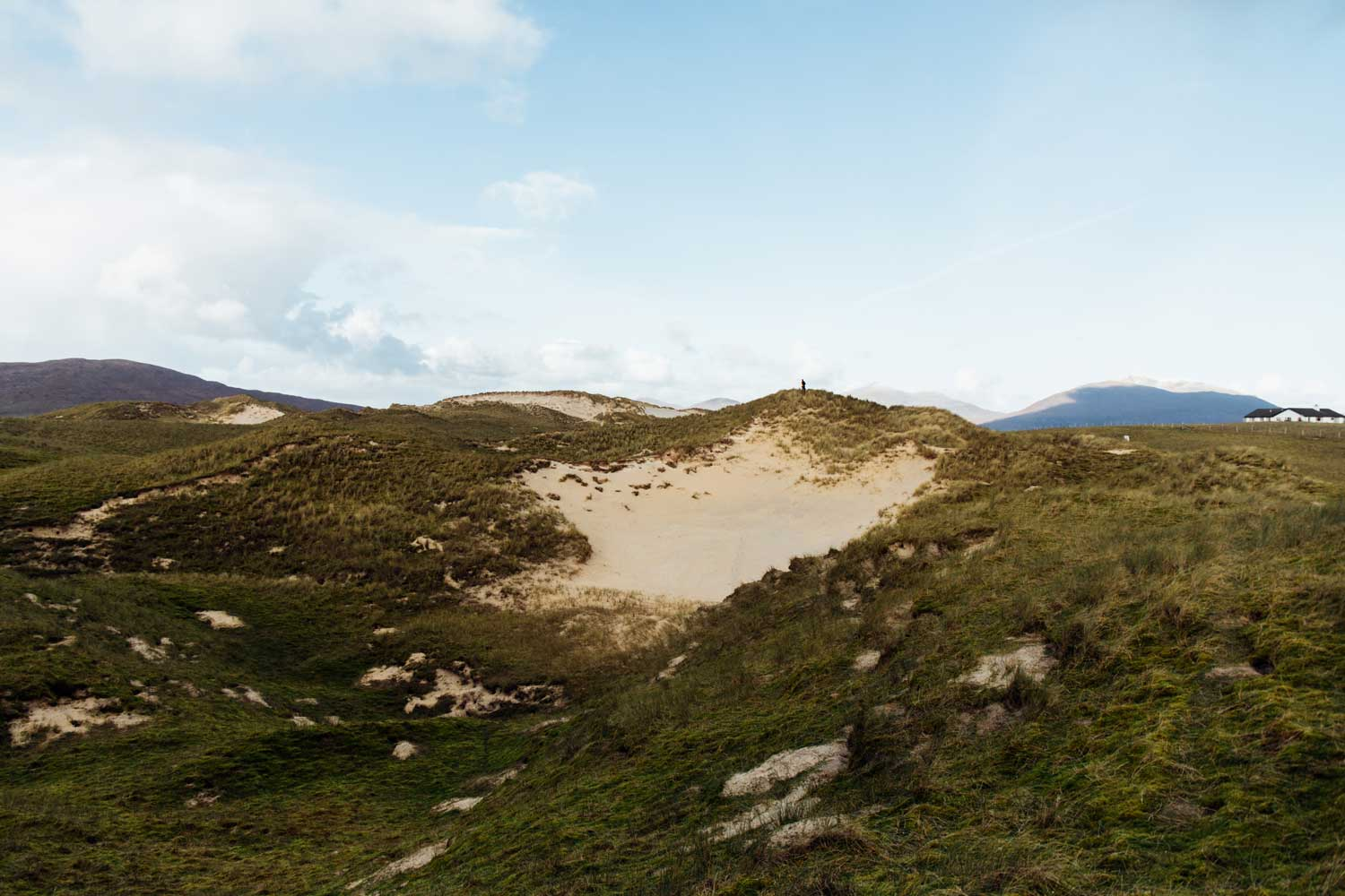 dune plage sable blanc nord ecosse