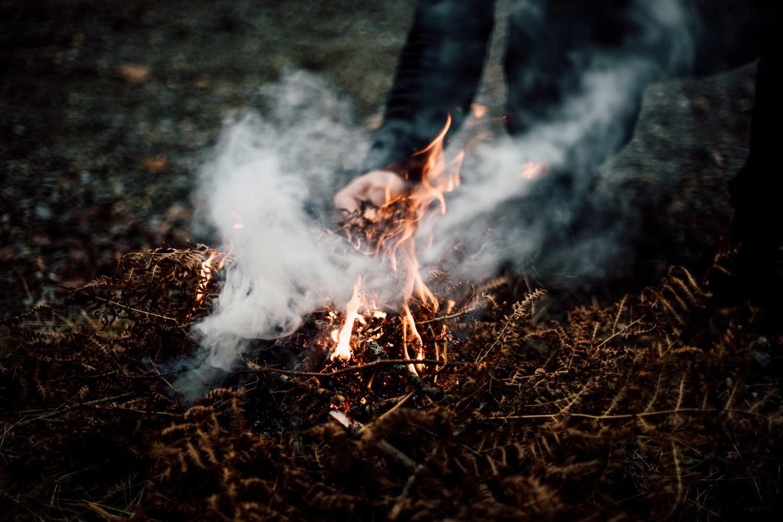 feu de camp ecosse
