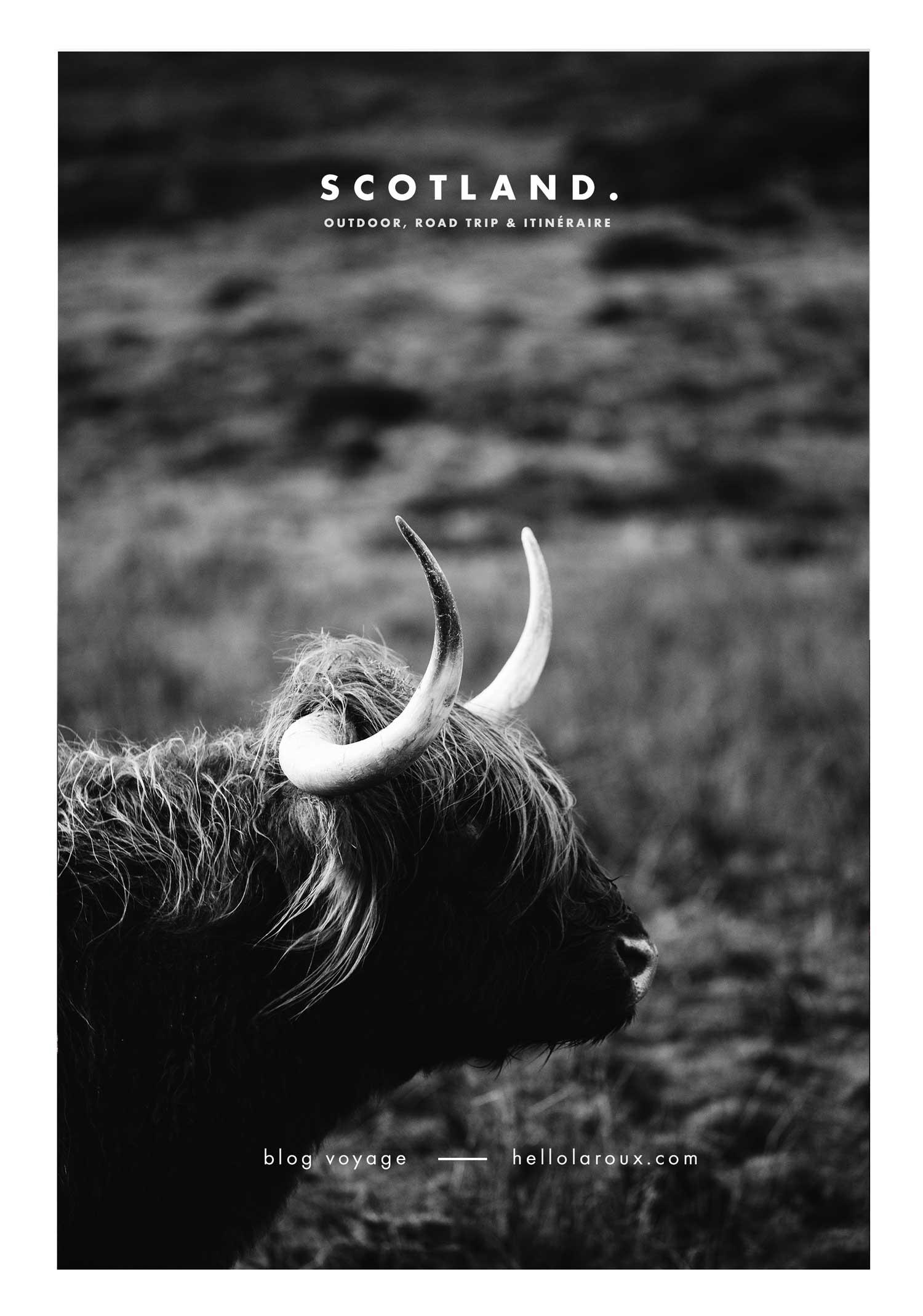 Guide et carnet de voyage d'un road trip en Écosse de 10 jours.