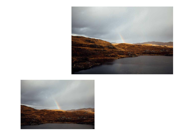 arc en ciel Écosse