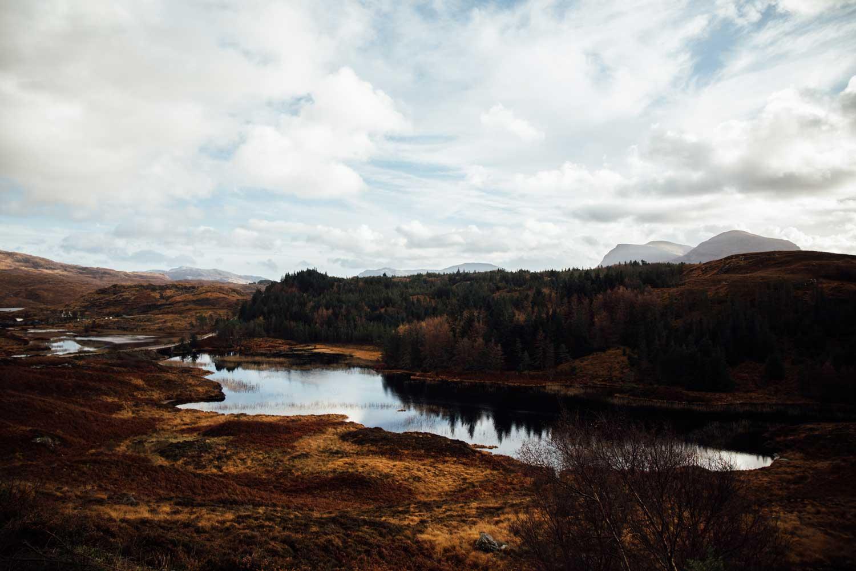 sur la route Écosse