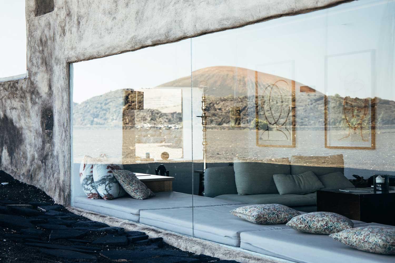 baie vitrée Buenavista Lanzarote hotel
