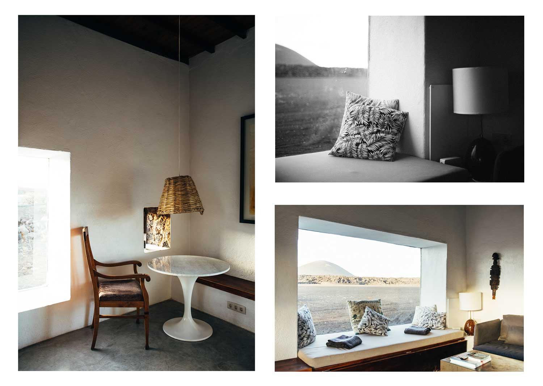 détail décoration hotel Lanzarote