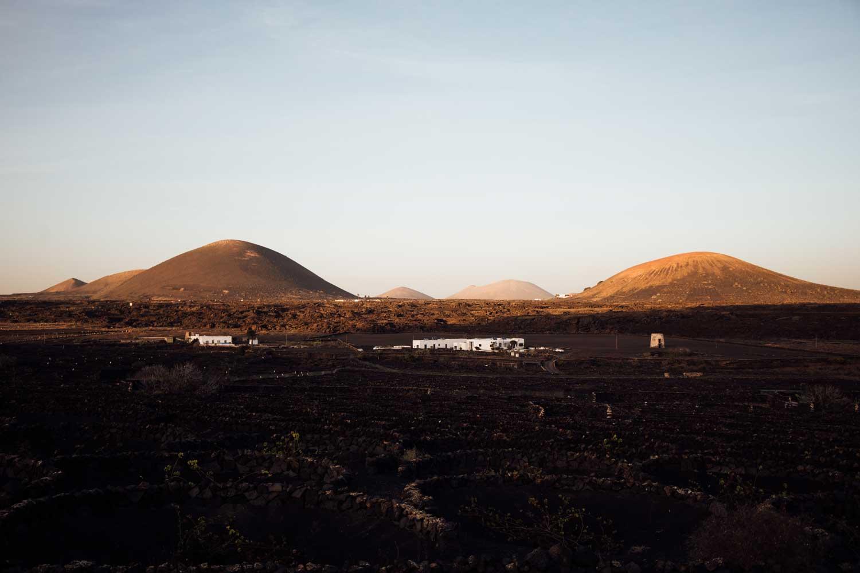paysages lunaires Lanzarote