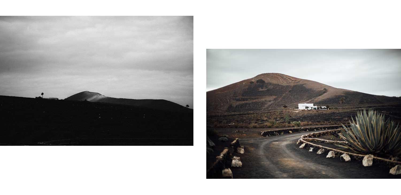 Paysages lunaires de Lanzarote
