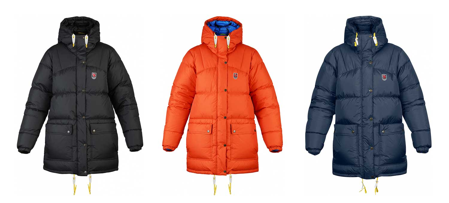 Parka grand froid Fjallraven