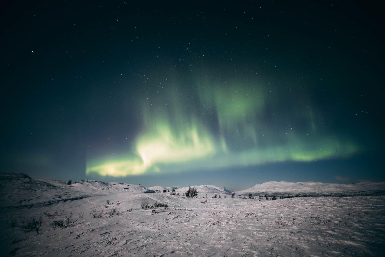 photographier les aurores boreales
