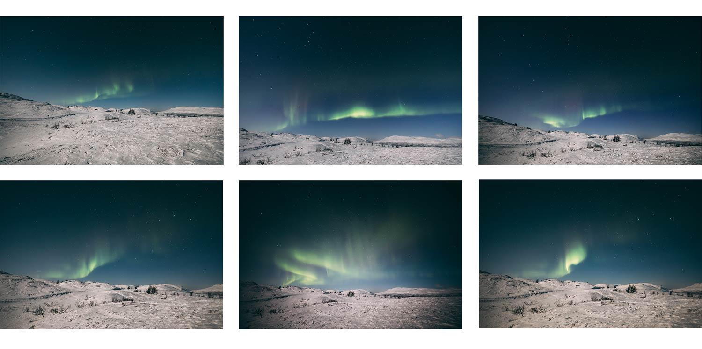 voir les aurores boreales laponie
