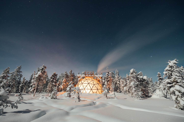 dome observation aurores boréales