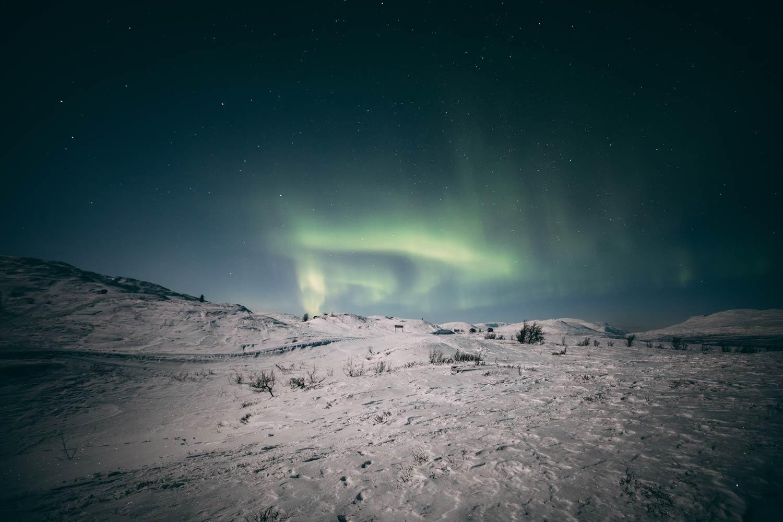 voir les aurores boréales en Laponie