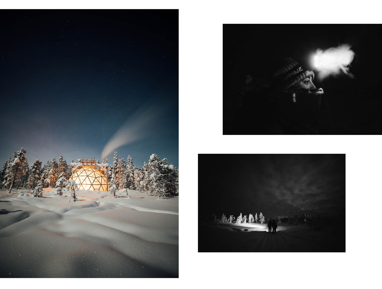 expérience Aurora Dome Laponie suédoise