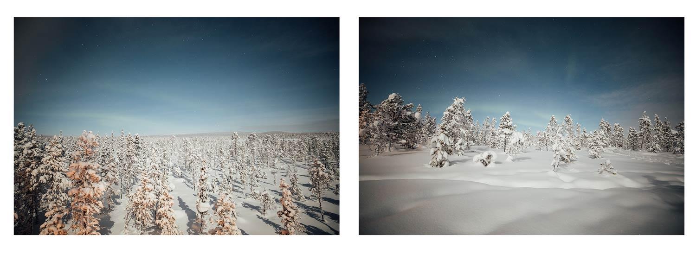 aurores boreales kiruna