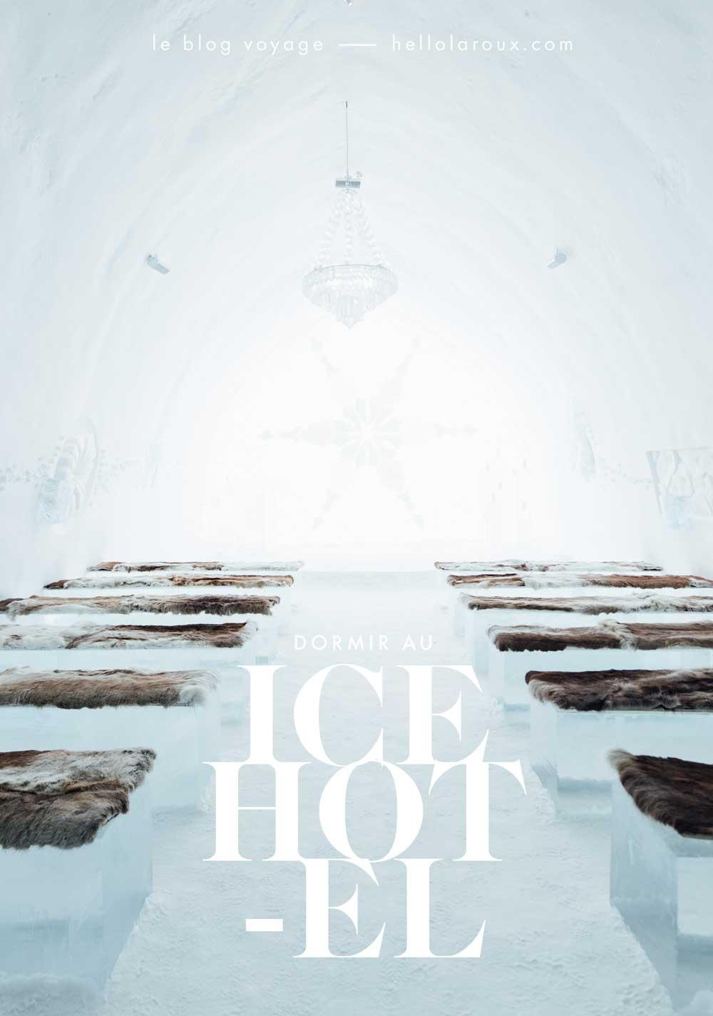 insolite — on a testé dormir dans au ICEHOTEl de Kiruna