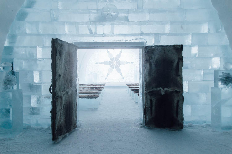 chapel icehotel sweden