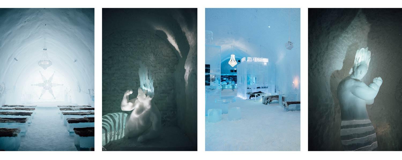 visiter hotel de glace suède