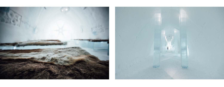 hotel de glace laponie suedoise