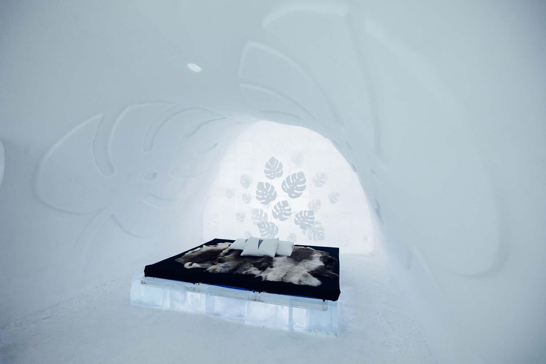 Art suite icehotel Jukkasjärvi