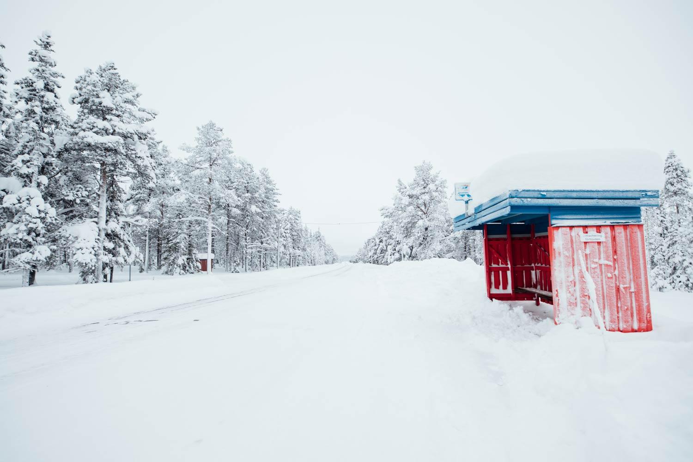 abris de bus Laponie