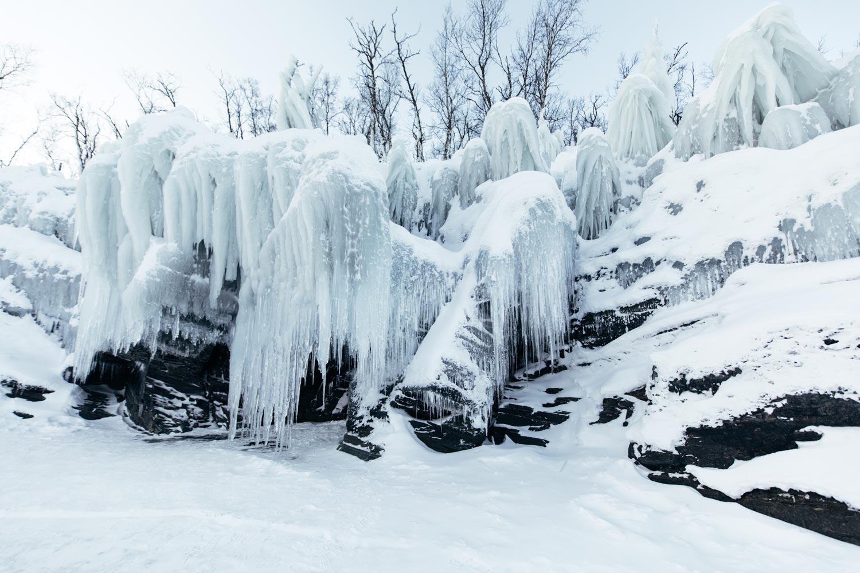 Abisko lac gelé