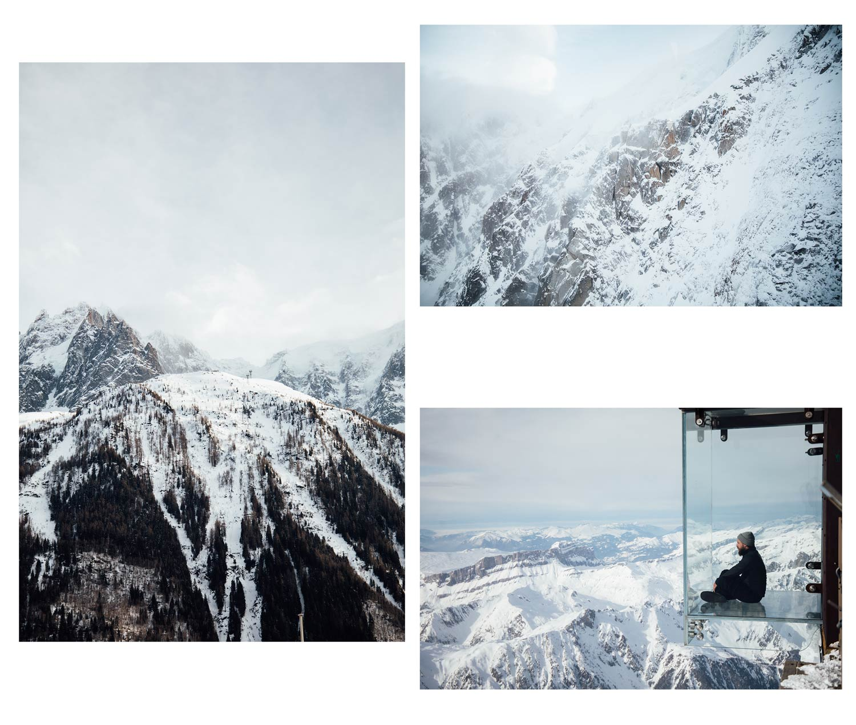 le pas dans le vide Chamonix