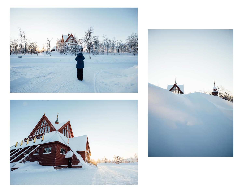 visiter Kiruna et son église