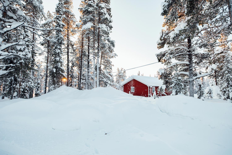 maison traditionnelle suédoise