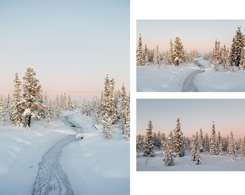 les plus beaux paysages de Laponie