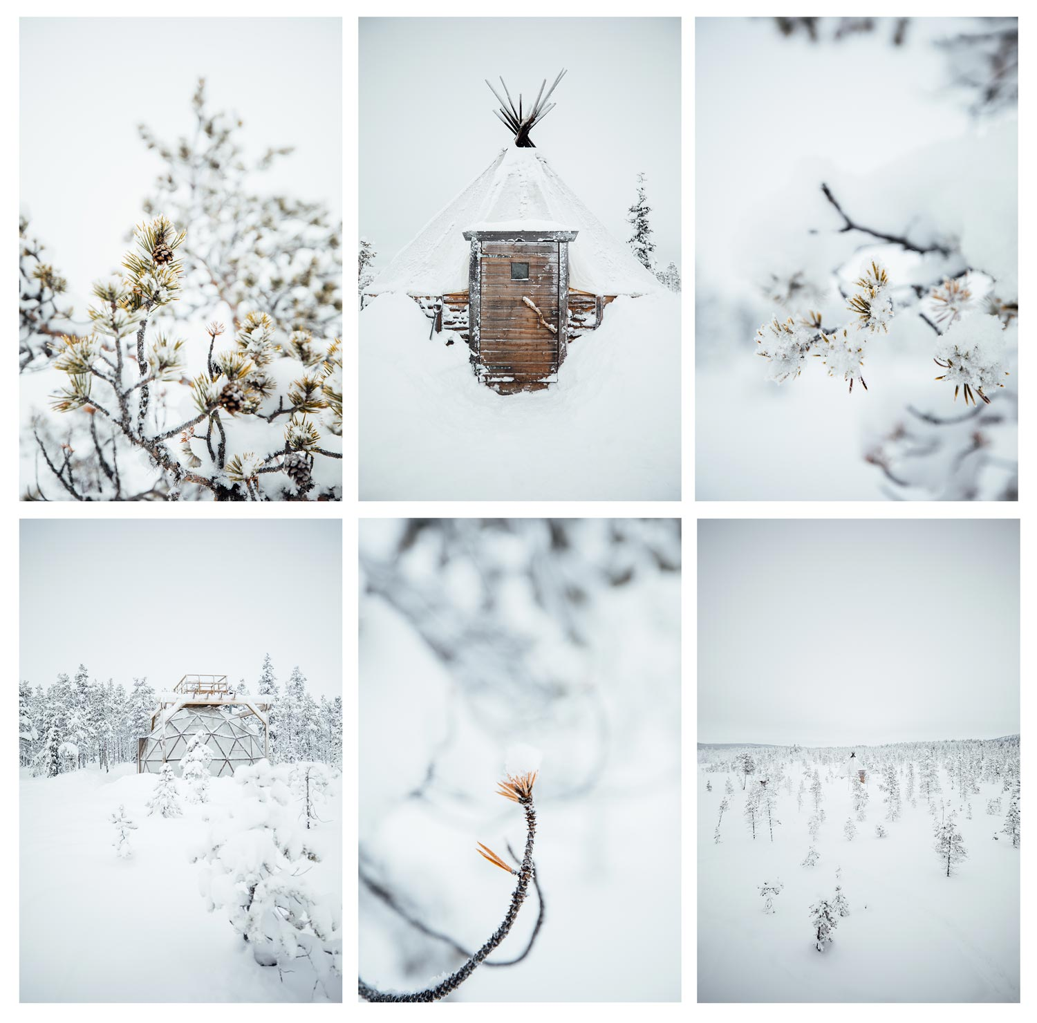 inspiration photo Laponie en hiver