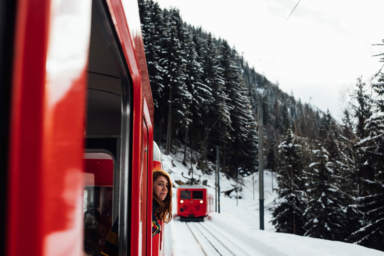 train Montenvers mer de glace