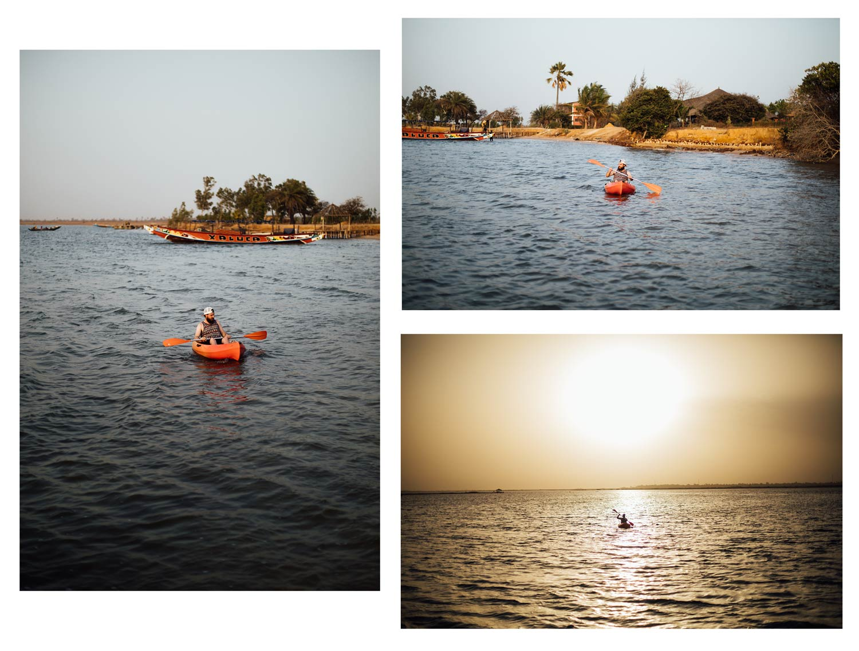 kayak campement Essamaye