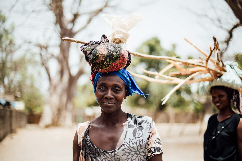 portrait femme Sénégal