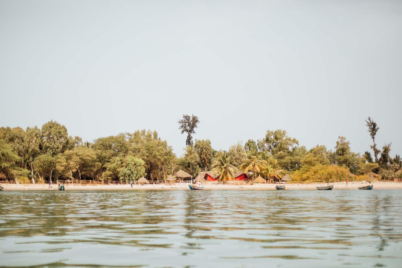 plage paradisiaque Sénégal