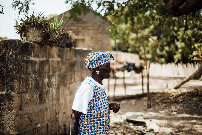 portrait femme du Sénégal