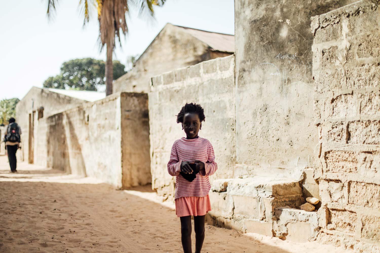 petite fille portrait Sénégal
