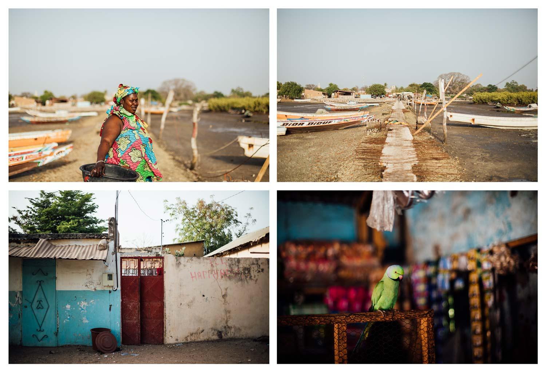 scène de vie, Missirah, Sénégal