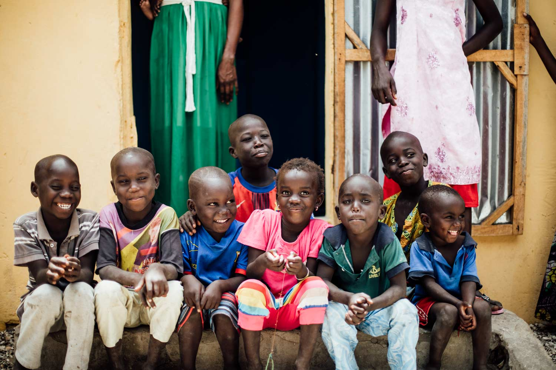 partir au Senegal portrait enfants