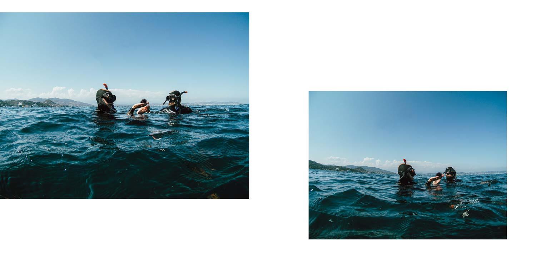 snorkelling en Estérel