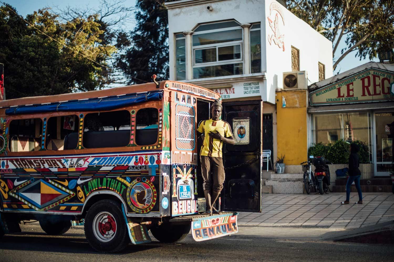 taxi brousse Sénégal