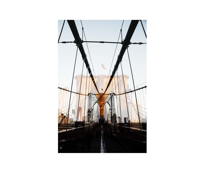 brooklyn bridge lever de soleil