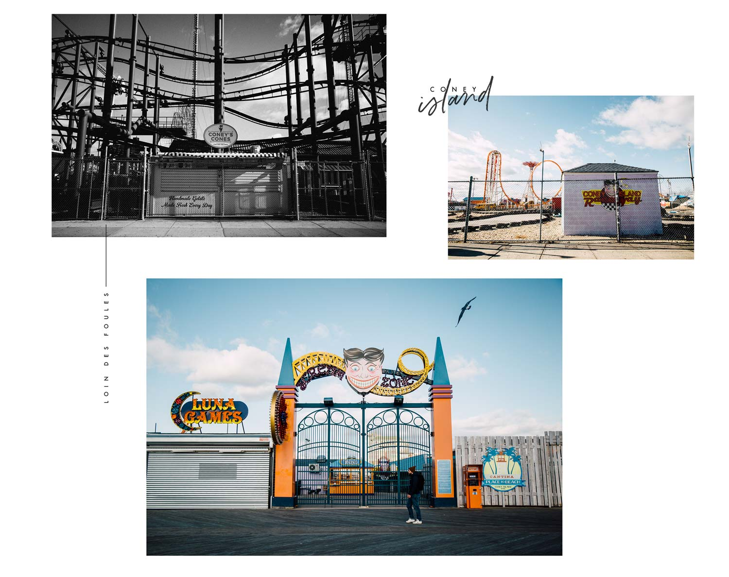 photo coney island sans touriste