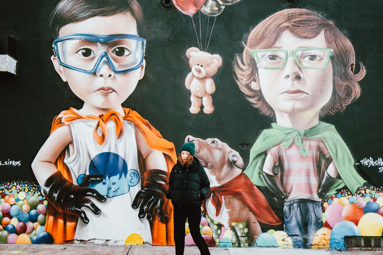 fresque murale street art Bushwick