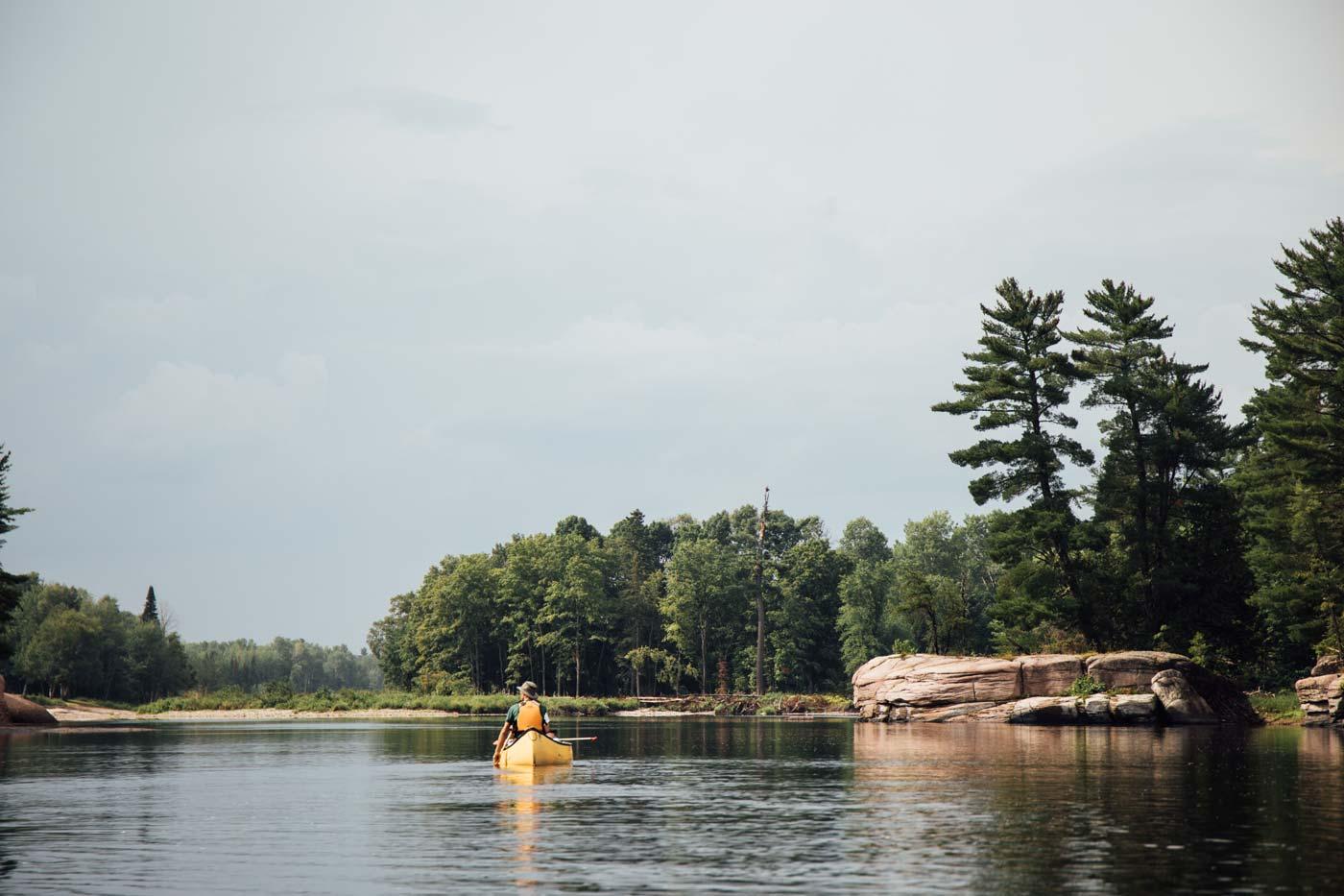 faire du kayak baie des chaleurs