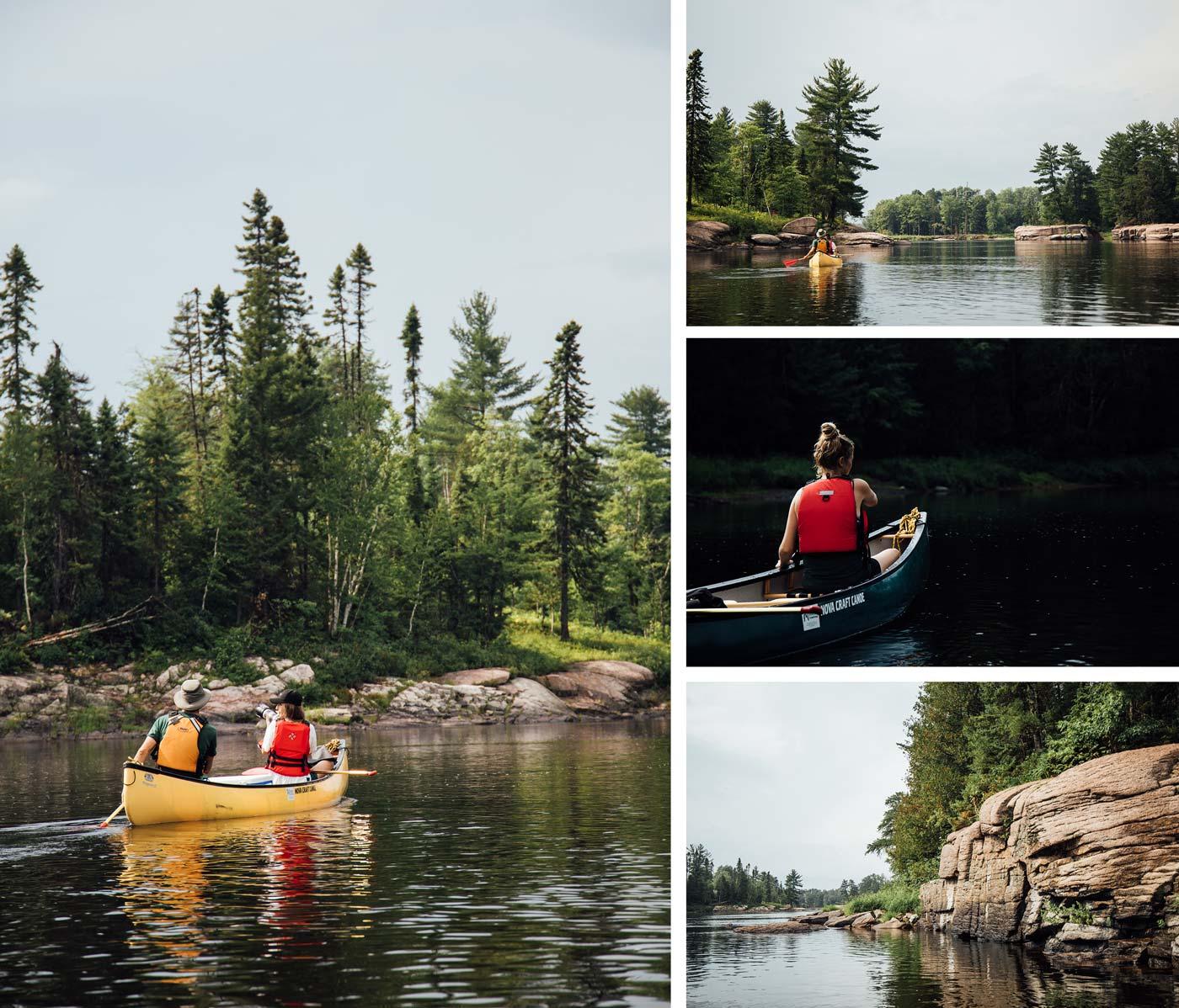kayak Nepisiguit river