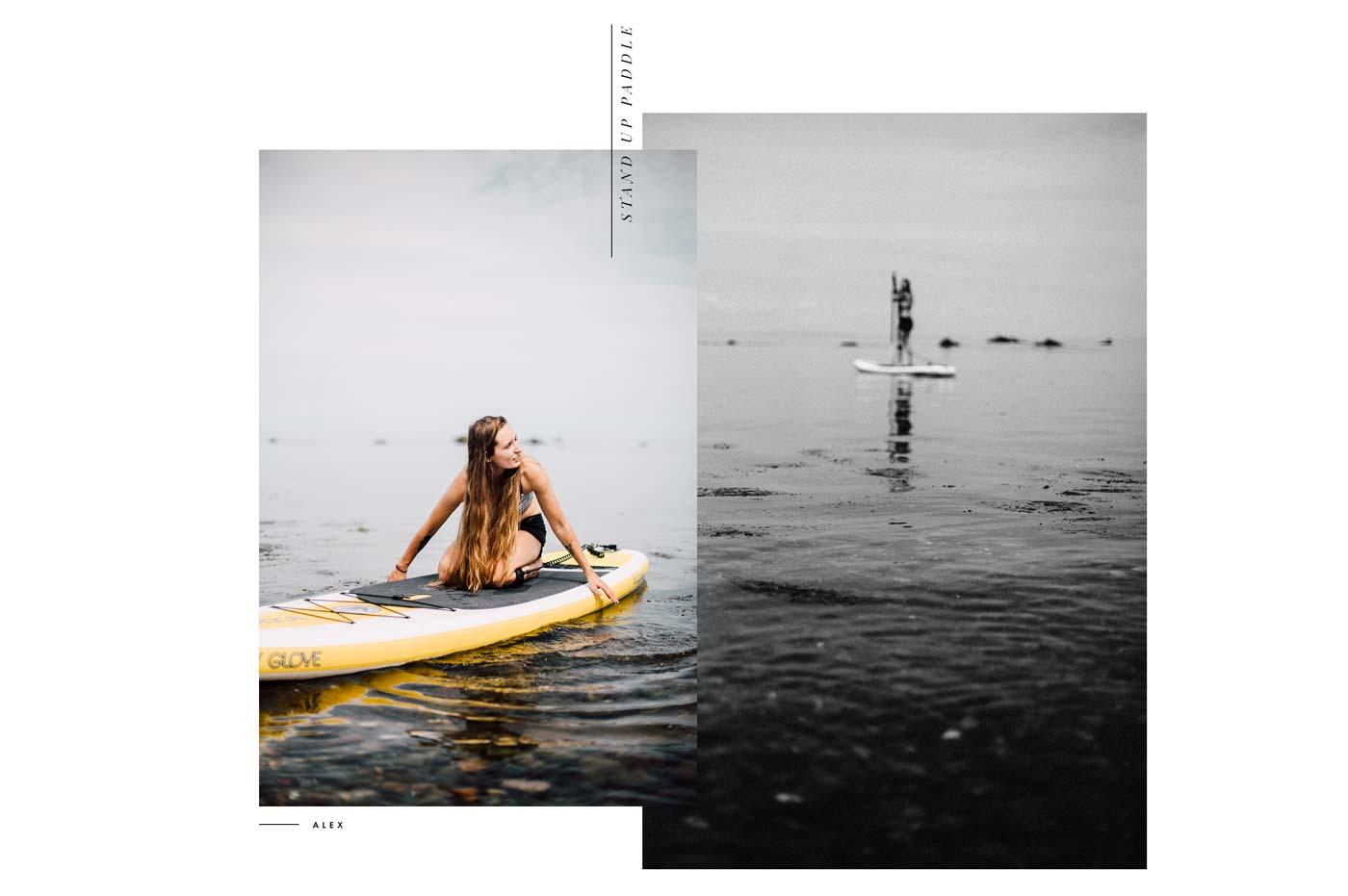 paddle baie des chaleurs
