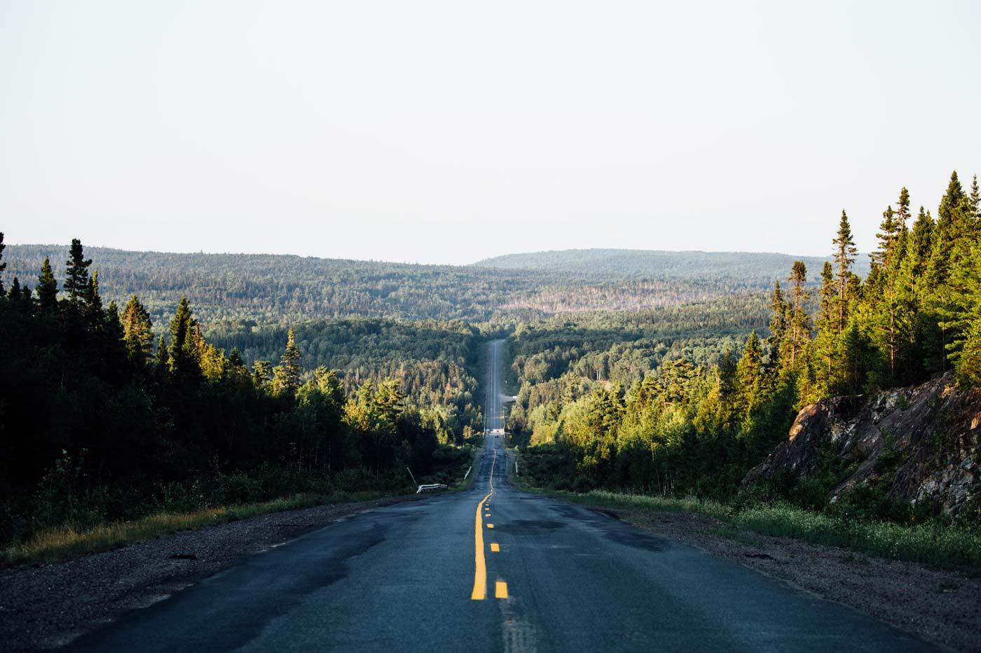 route du nouveau brunswick