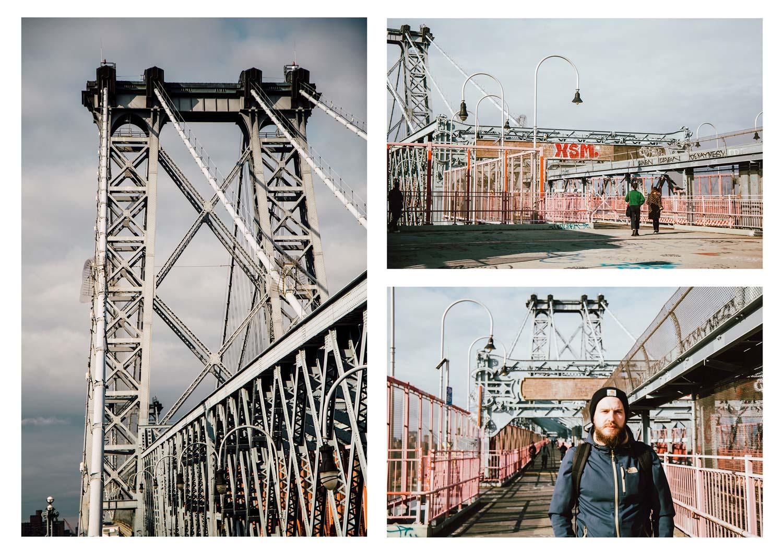 Williamsburg Bridge à pied