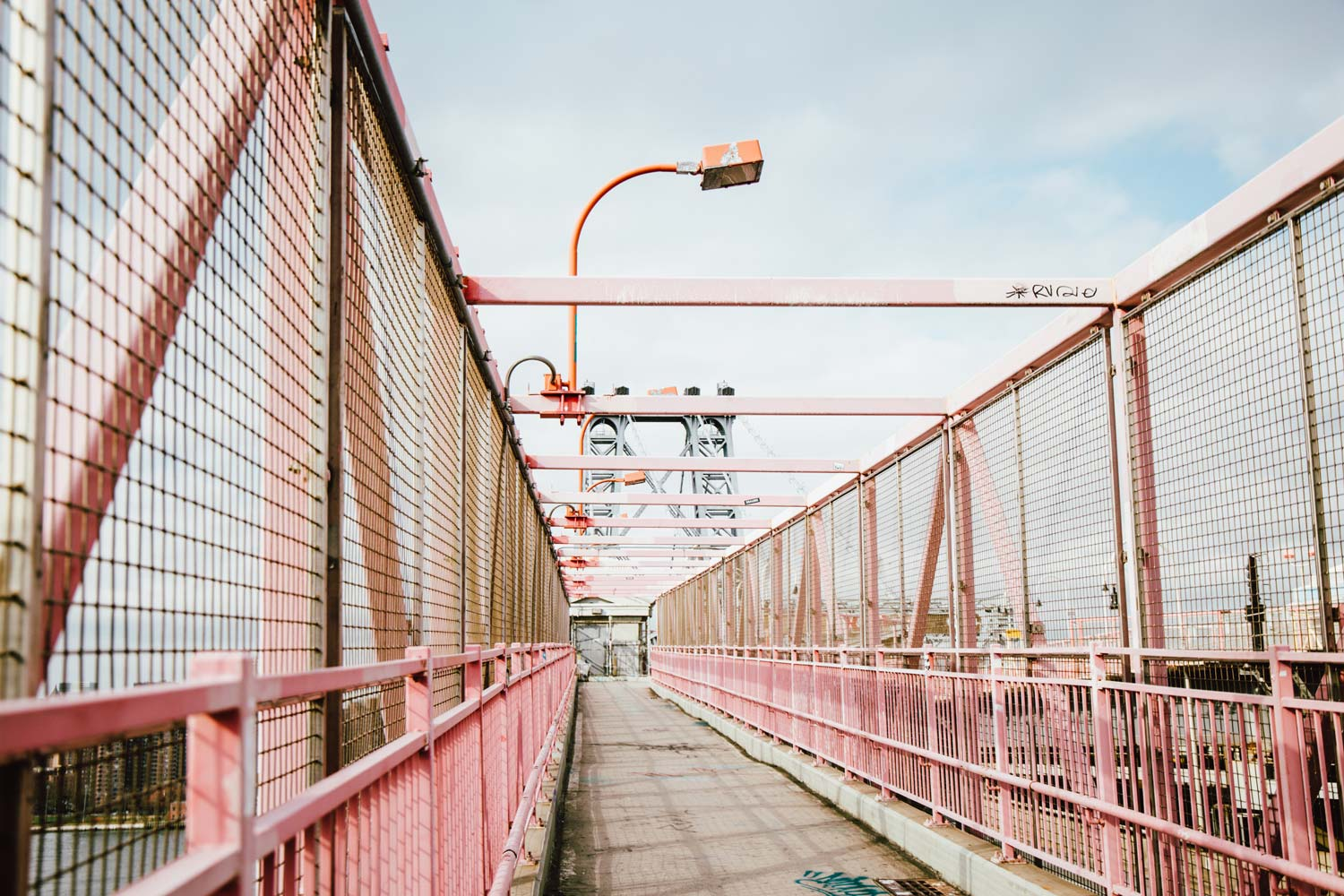 Williamsburg Bridge, le pont graphique de New York