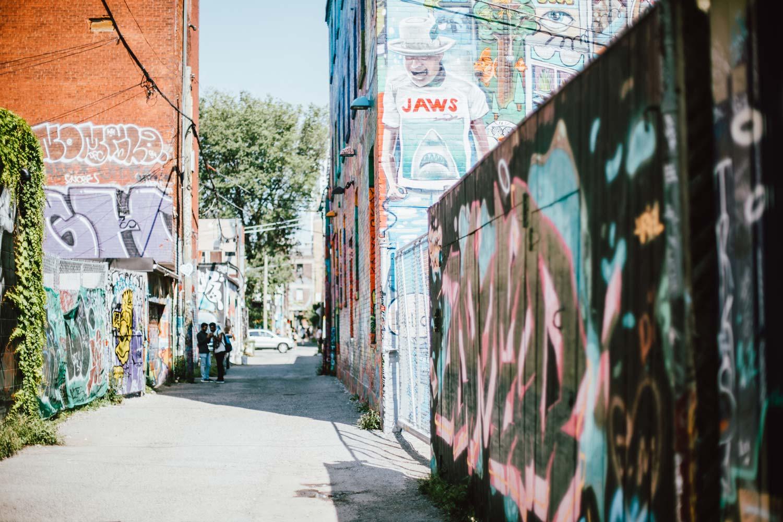 graffiti alley street art toronto