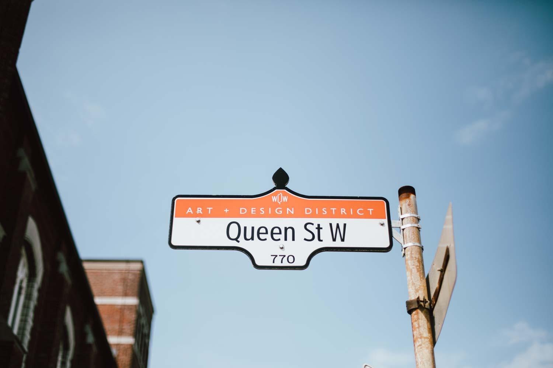 visit Toronto Queen st west