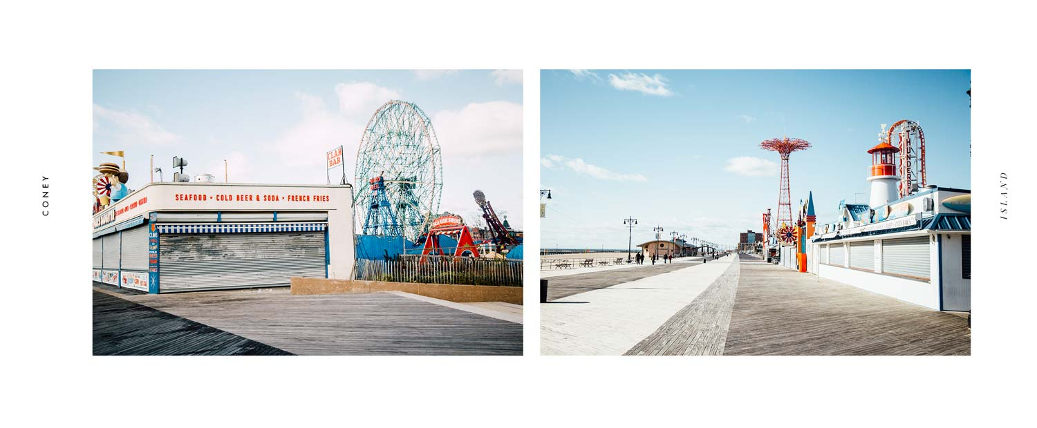 CONEY ISLAND visiter new-york